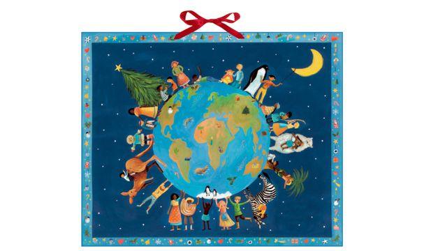 Zettel-Adventskalender: Weihnachten bei den Kindern der Welt