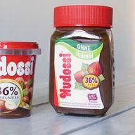Nudossi im Glas: Nuss-Nougat-Creme ohne Palmöl