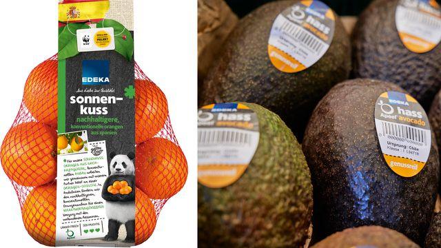 Zitrusfrüchte und Avocados bei Edeka und Netto: Mit essbarer Schutzschicht