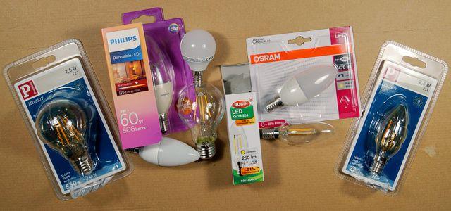 LED-Leuchtmittel sind heute vielfältig erhältlich