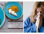 Sechs Hausmittel gegen Erkältung