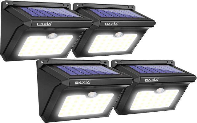 Baixa Technology Solar Motion Sensor Security Lights