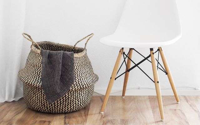 becoming minimalist: basket method