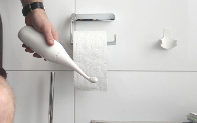 Alternative zu Toilettenpapier: HappyPo, mobiles Bidet