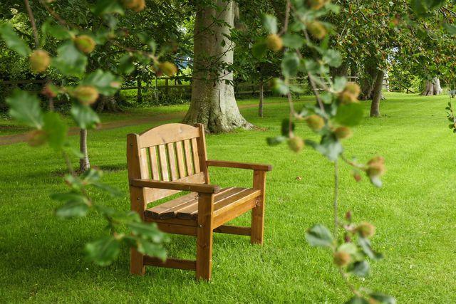 Polywood ist ein beliebter Stoff für Gartenmöbel.