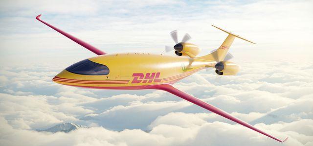 DHL Express Eviation Elektroflugzeug Alice