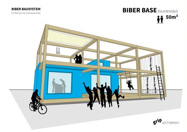 Wohnen Modular Biber Bausystem