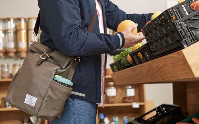 Einkaufstasche Plastik und Verpackung sparen Tchibo