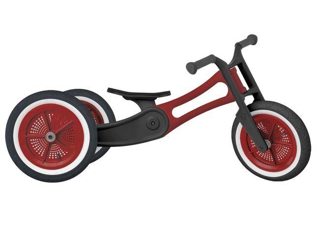 Der Rahmen dieses Laufrads wird aus recycelten Teppichen und PET-Flaschen hergestellt.