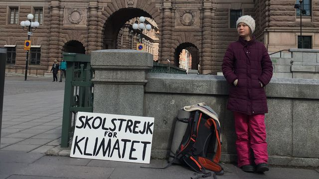 Greta Thunberg, Opec