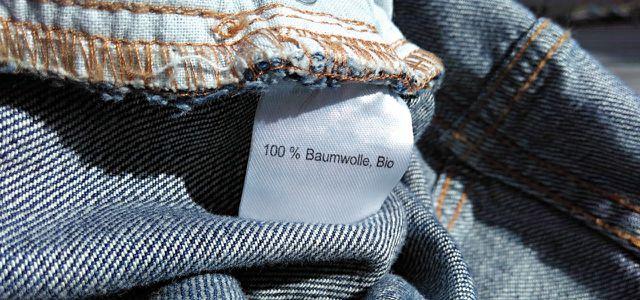 Bio-Baumwolle, zum Beispiel in Bio-Jeans