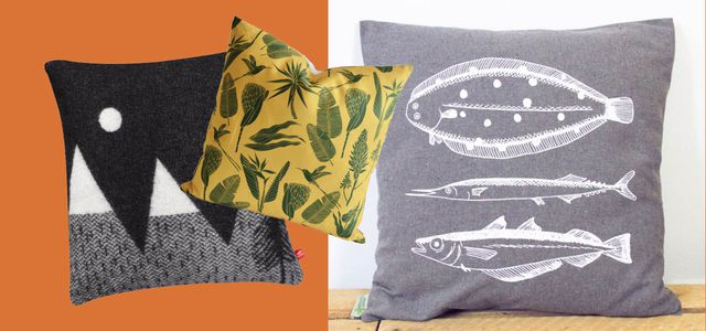 Deko-Kissen und Sofa-Kissen gibt es auch aus Bio-Baumwolle und fairer Herstellung.