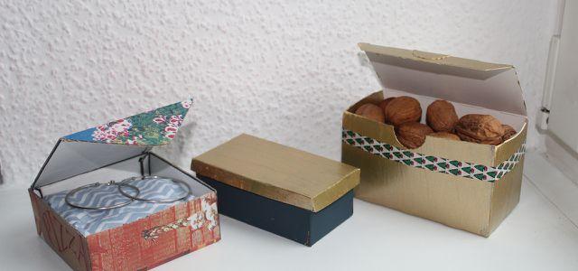 Schachteln Basteln Eine Anleitung Für Einfach Schöne