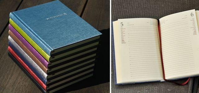 Schöner Kalender von Buchbinderei Rost