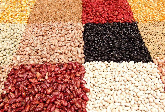 Hülsenfrüchte sind reich an Proteinen.