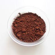 Nutze für den veganen Tassenkuchen Kakao in Fair-Trade-Qualität.