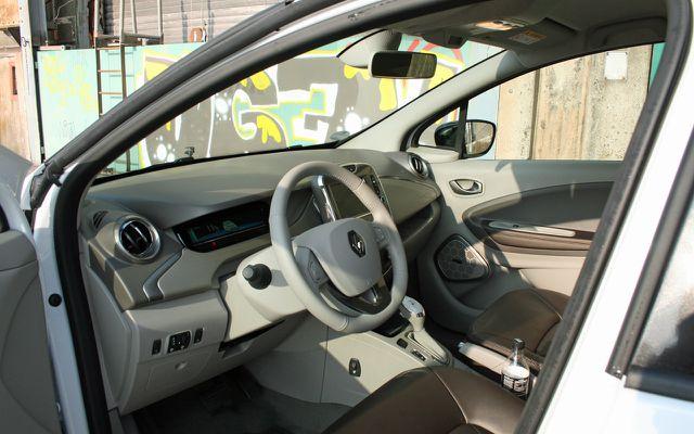 Das Innere des Renault Zoe