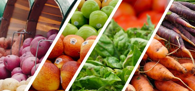 Eat fruits and vegetables conscious meal planning