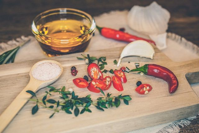 Chilli Oil Cooking