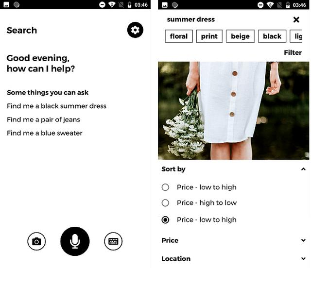 Die komfortable Suche ermöglicht es dir, genau den Artikel zu finden, den du suchst.
