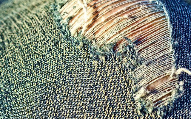 zerrissene jeans