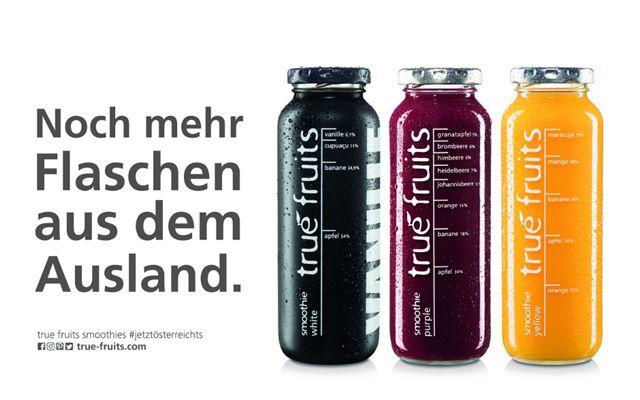 True Fruits Rassismus schwarze Flasche
