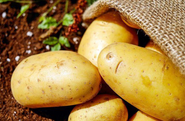 Kartoffeln sind reich an Ballaststoffen.