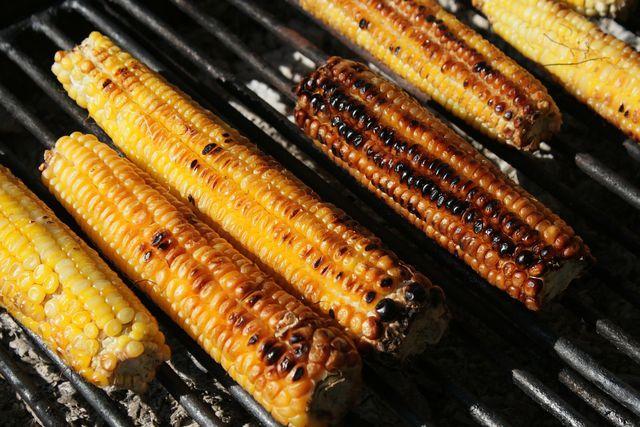 Maiskolben grillen ist nicht schwer. Du solltest sie nur regelmäßig wenden, damit sie gleichmäßig braun werden.