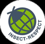 """Das Siegel """"Insect Respect"""" kennzeichnet Produkte zur Schädlingsbekämpfung, mit deren Kauf anderswo der Erhalt von Insekten gefördert wird."""