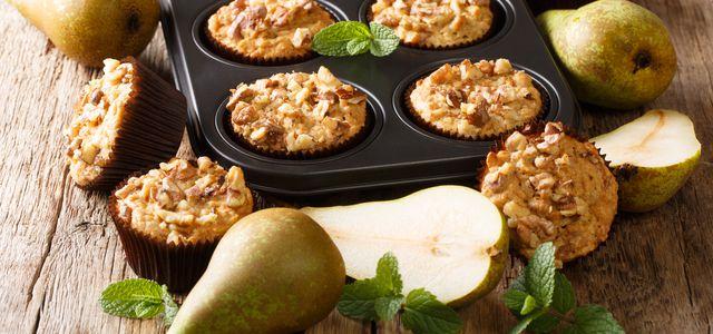 Birnenmuffins