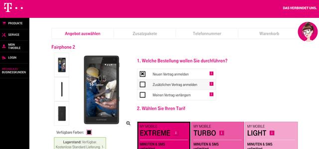 Fairphone 2 Fairphone Mit Vertrag Jetzt Bei T Mobile Austria