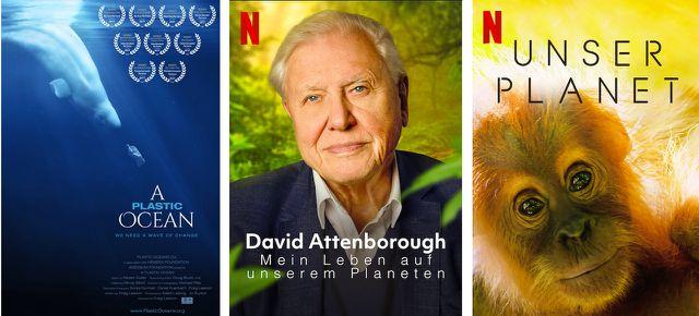 A Plastic Ocean (2016), David Attenborough – Mein Leben auf unserem Planeten (2020), Unser Planet (2019)