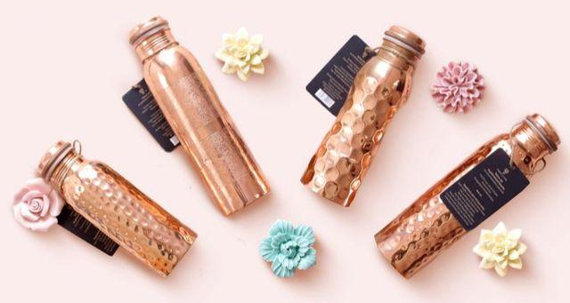 Kupferflaschen von Forrest & Love