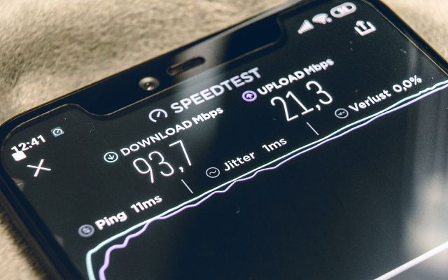 5G Download Geschwindigkeit