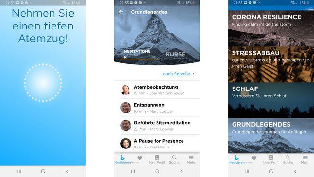 Achtsamkeits-App: Meditieren mit digitaler Unterstützung