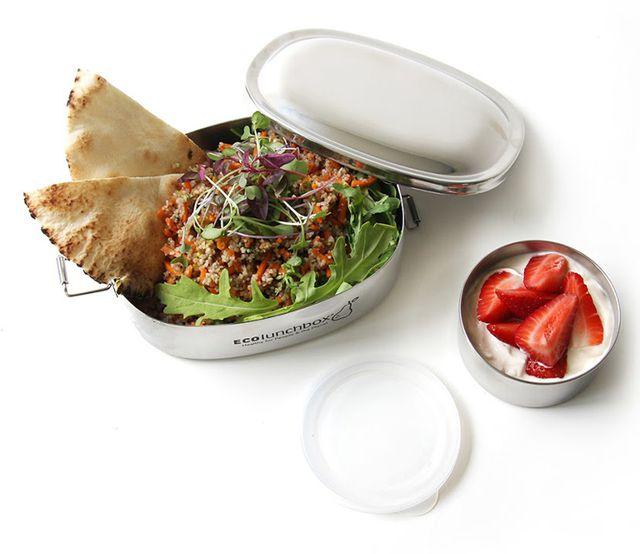 Edelstahl-Brotdose von Eco Lunchbox