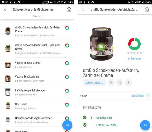 Mit Codecheck findest du zusätzliche Informationen zu Produkten und Lebensmitteln.