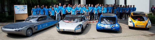 Solarcars an der Hochschule Bochum