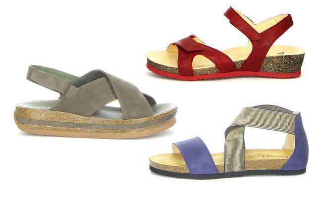 nachhaltige Sandalen Think