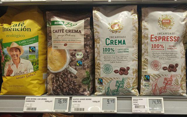 Fairtrade Produkte fairer kaffee