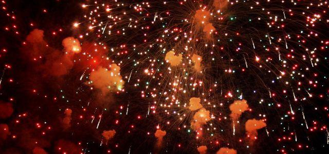 Feuerwerk Feinstaub