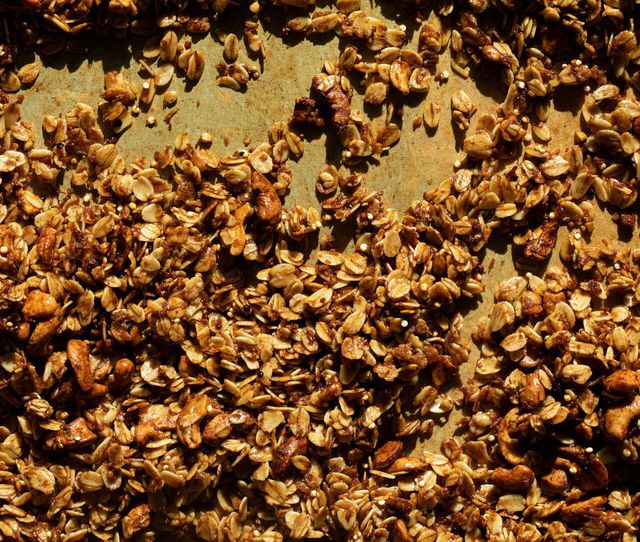 Start your day off right with some pumpkin spice granola.