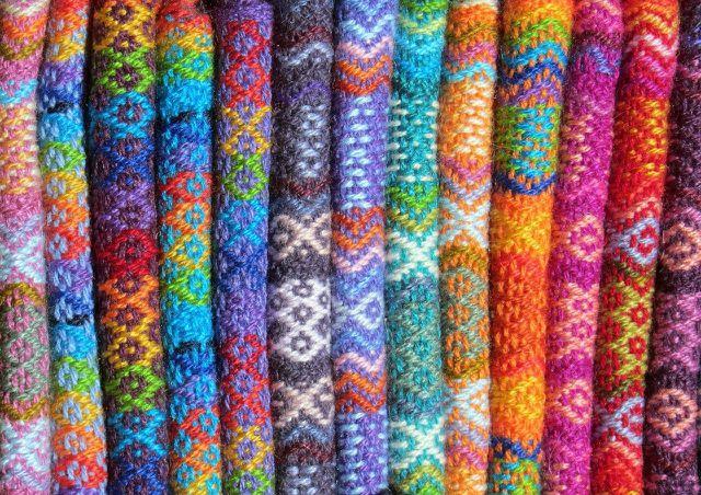 Wetbags bestehten meist aus Kunstfasern –es gibt aber auch Produkte aus Wolle.