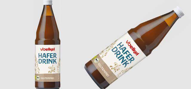 Hafermilch, Glasflasche, Voelkl