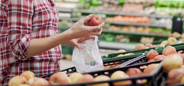 Rewe Plastiktüten Obst Gemüse Mehrweg