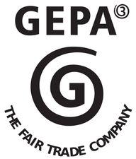 Gepa-Zeichen für Fair-Trade-Schokolade