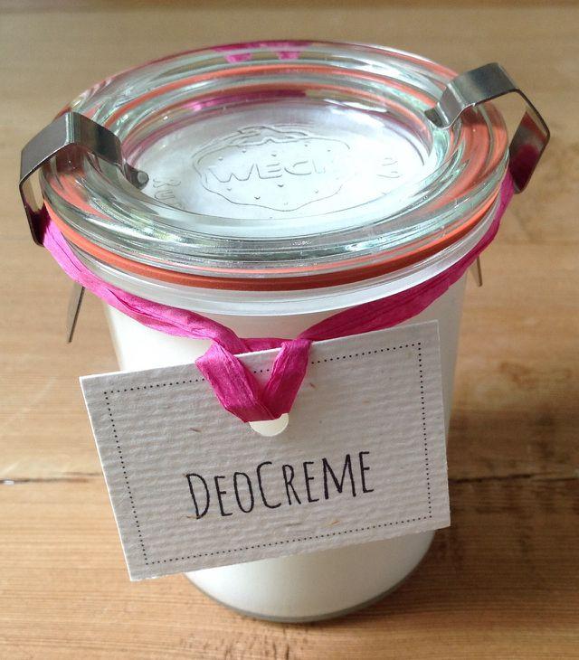 Deo selber machen - selbstgemachte Deocreme der Bloggerin Stephanie Wiermann von fiefhusen.de
