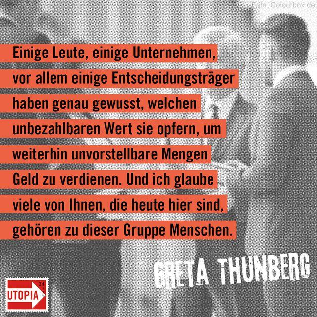 Greta Thunberg Zitate
