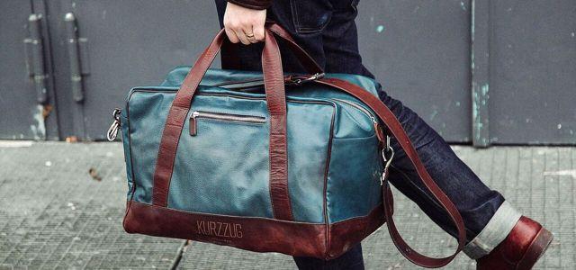 Kurzzug: Upgecycelte Taschen aus U-Bahn-Sitzbezügen