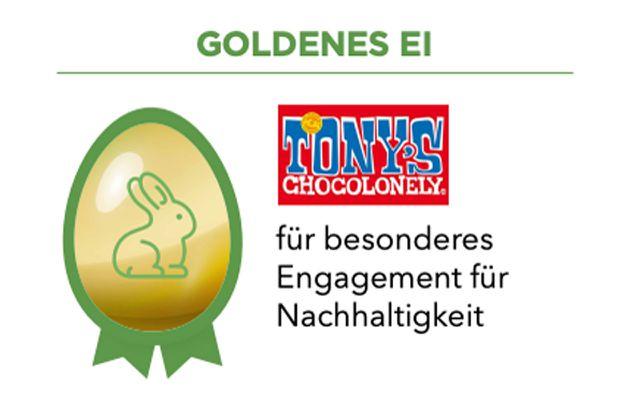 Goldenes Ei für Tony